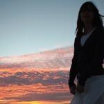 Danza e tramonto - Paros. Coucher de soleil Paros