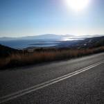 Strada - Paros. Route - Paros